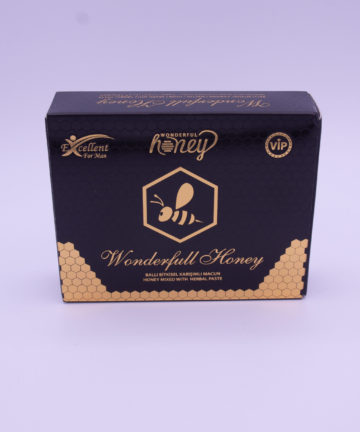 Wonderfull Honey Miel Extraordinaire deenshop.be Miel Aphrodisiaque